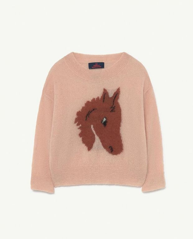 Soft Pink Bull Jumper