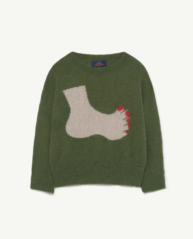 Green Bull Sweater