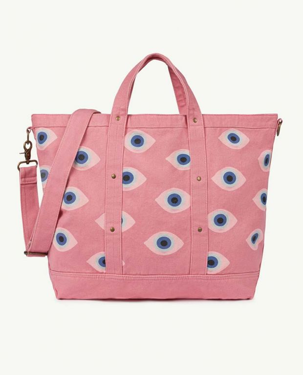 Big Pink Canvas Bag