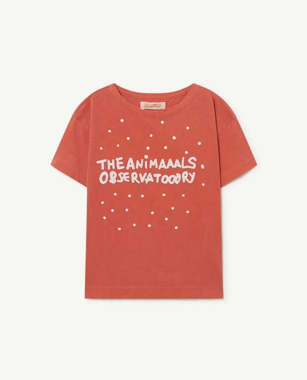 Red The Animals Rooster T-Shirt