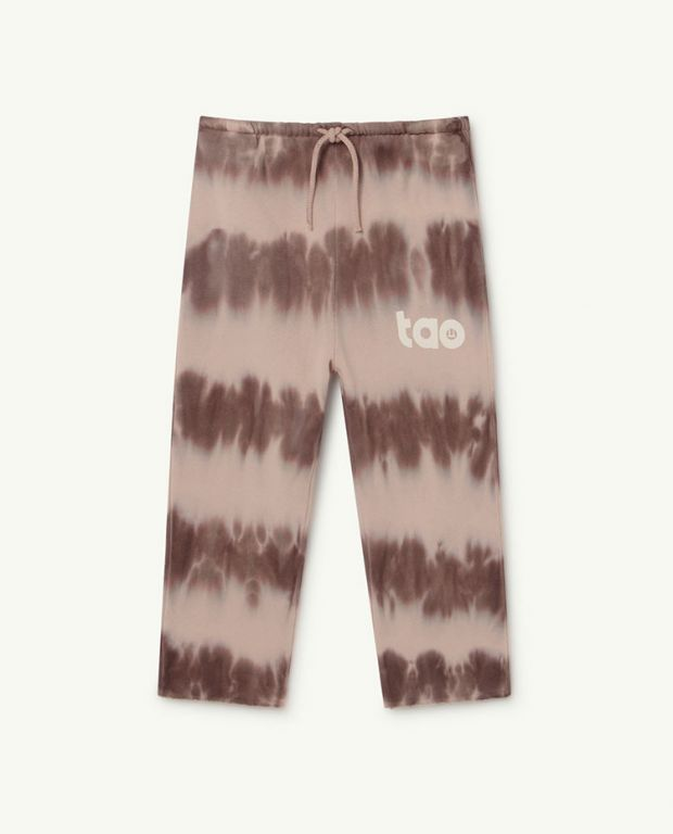 Soft Pink Logo Horse Trousers