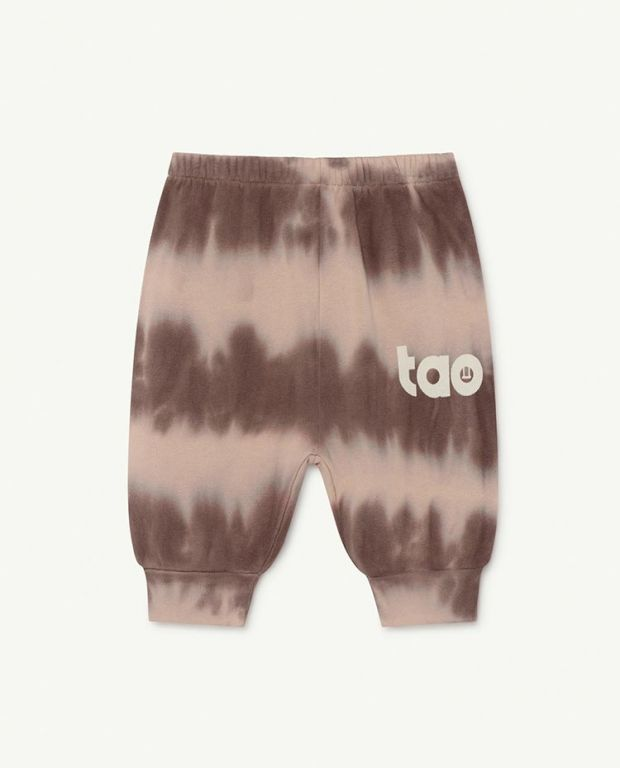 Soft Pink Logo Dromedary Baby Trousers