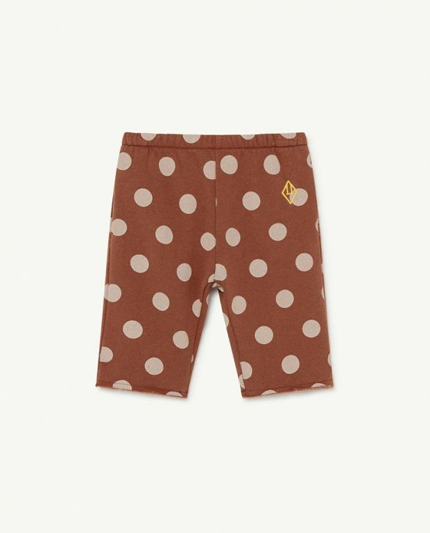 Brown Dots Horse Baby Trousers