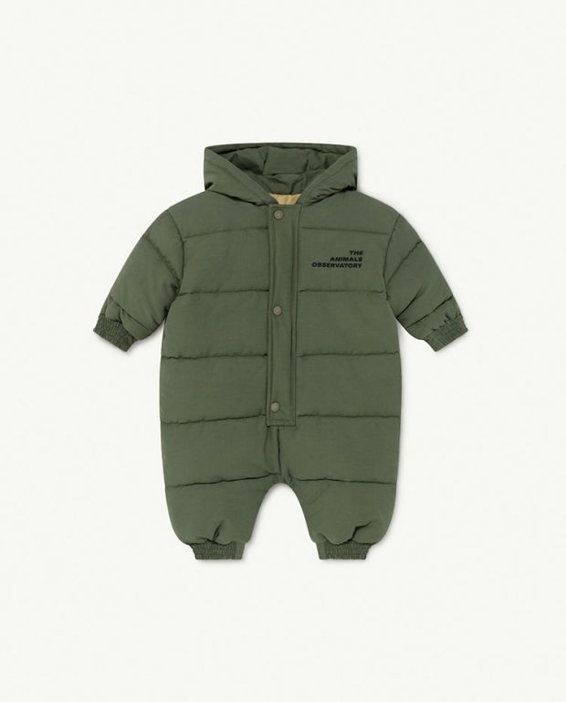 Military The Animals Bumblebee Baby Jumpsuit
