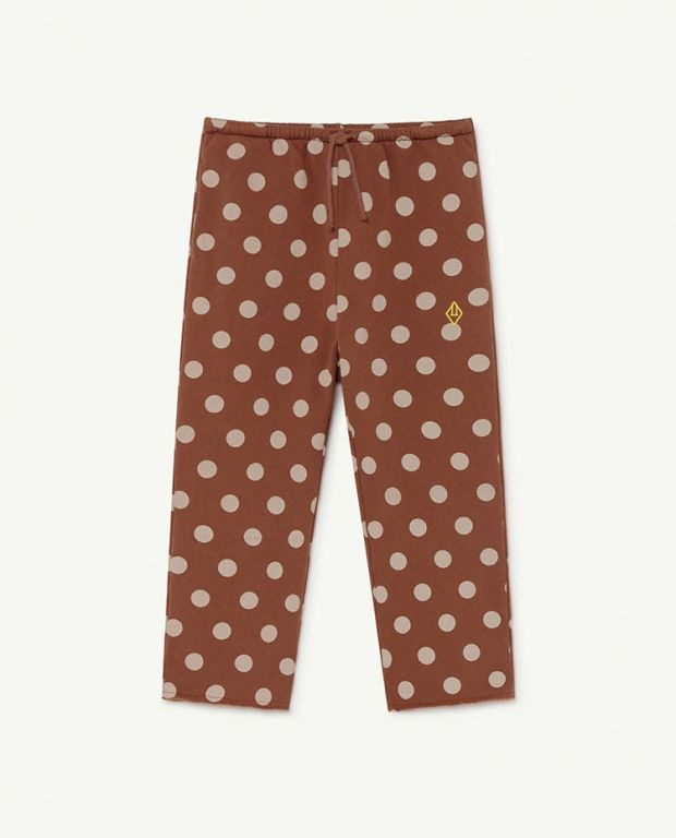 Brown Dots Horse Trousers