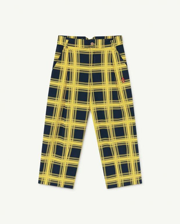 Yellow Squares Emu Trousers