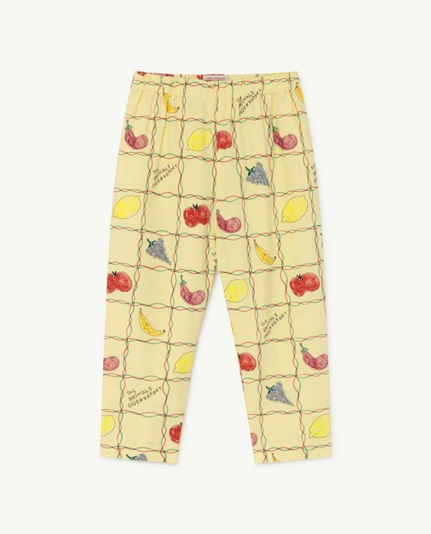 Soft Blue Boats Elephant Baby Trousers