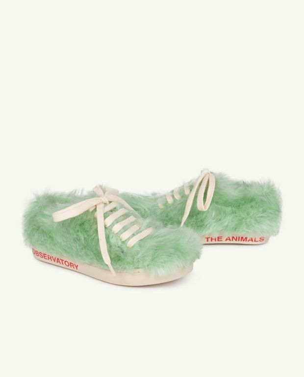 Soft Green The Animals Bunny Shoes