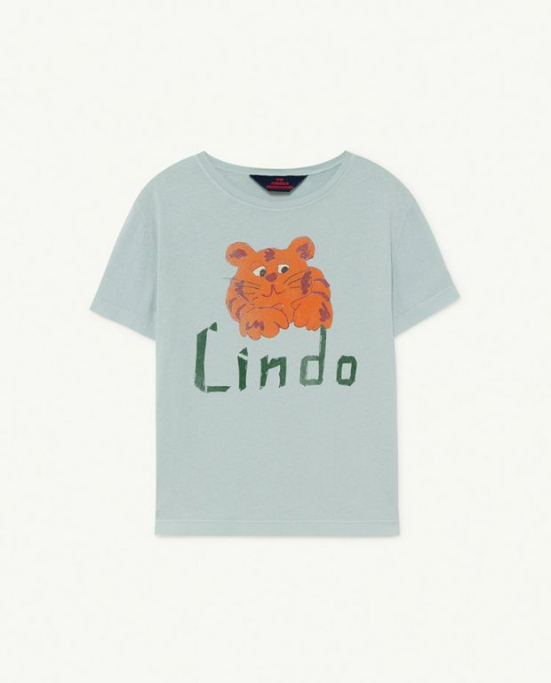 Blue Lindo Rooster T-Shirt