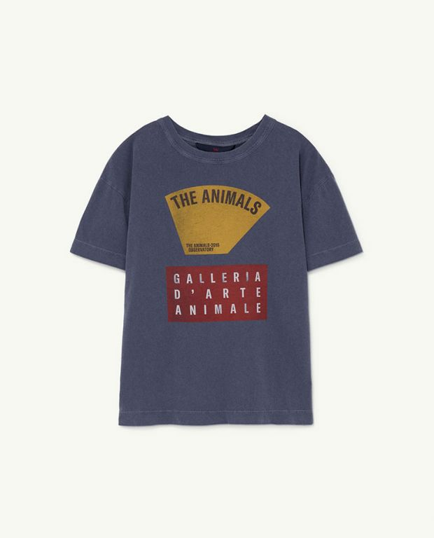 Navy Scale Rooster T-Shirt