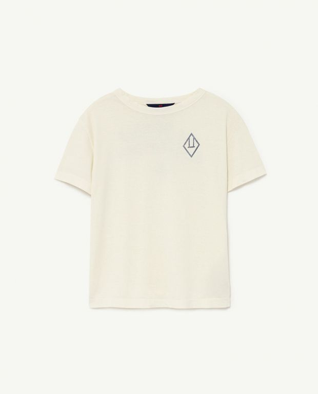 White Logo Rooster T-Shirt