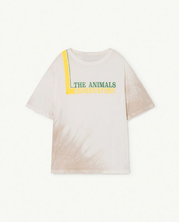 White The Animals Rooster Oversize T-shirt