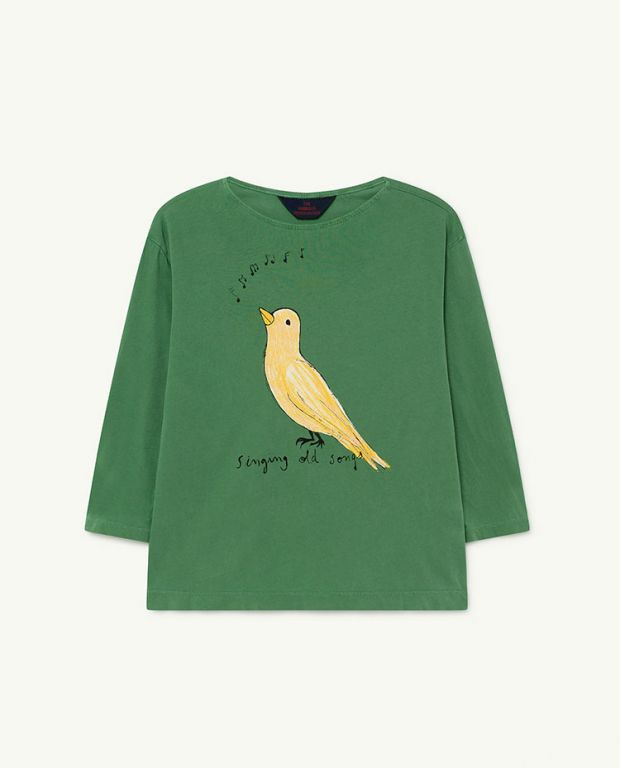 Green Bird Anteater T-shirt