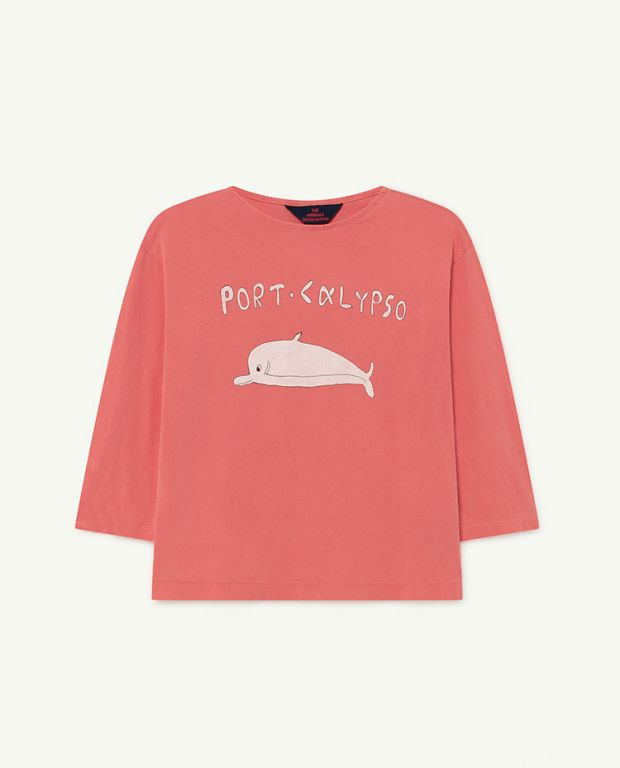 Red Dolphin Anteater T-shirt