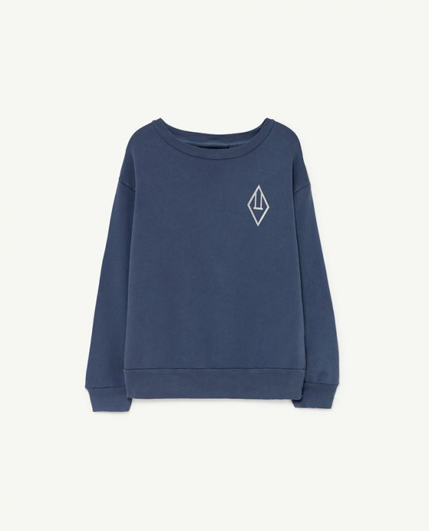 Navy Logo Bear Sweatshirt