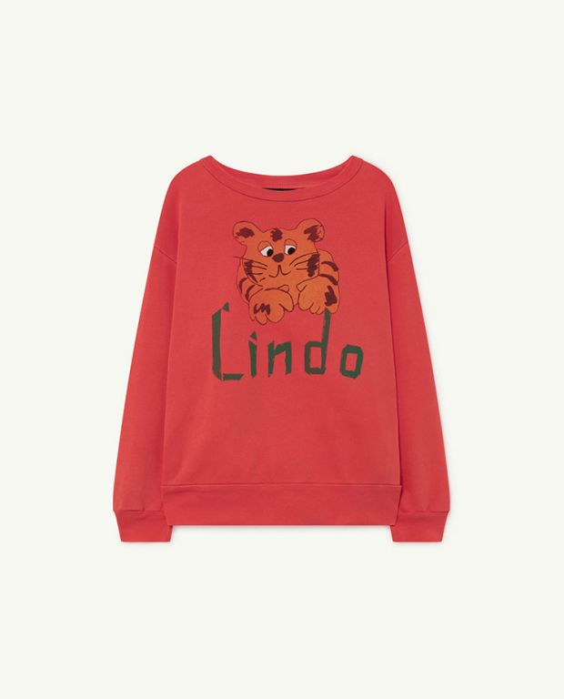 Red Lindo Bear Sweatshirt