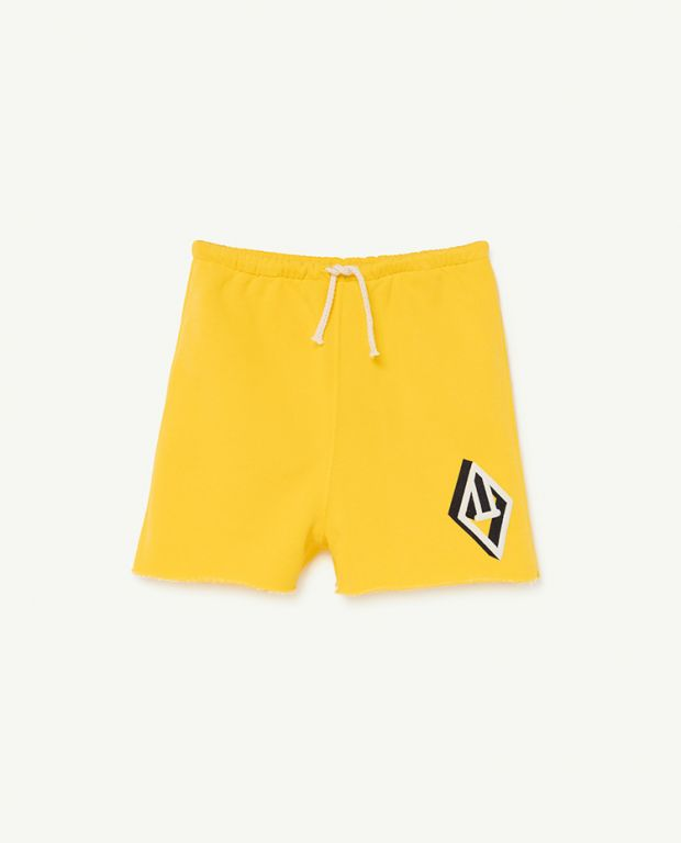 Yellow Logo Hedgehog Trousers