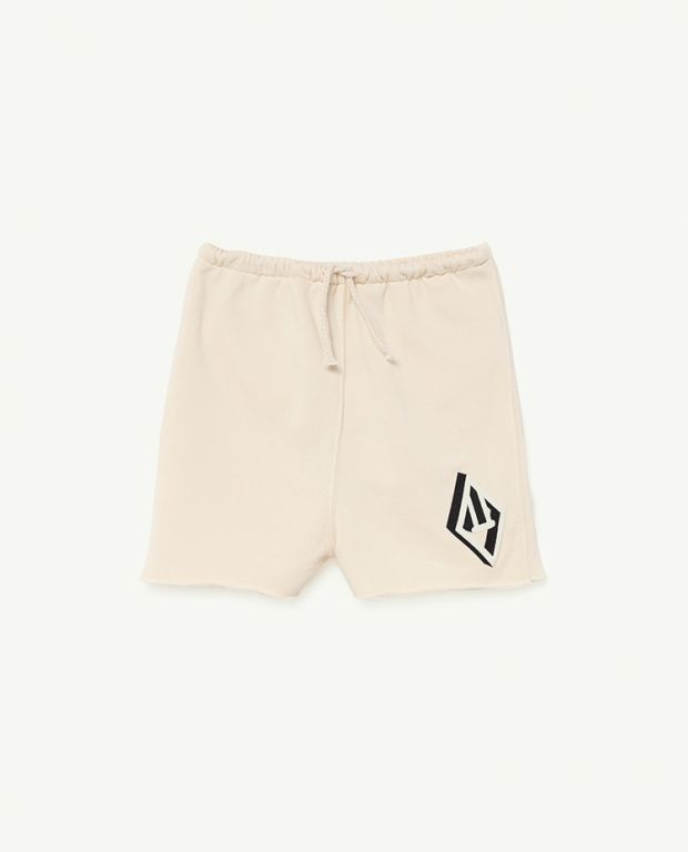 White Logo Hedgehog Trousers