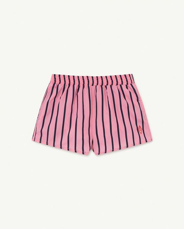 Pink Stripes Puppy Swimsuit