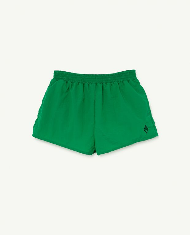 Green Logo Puppy Swimsuit