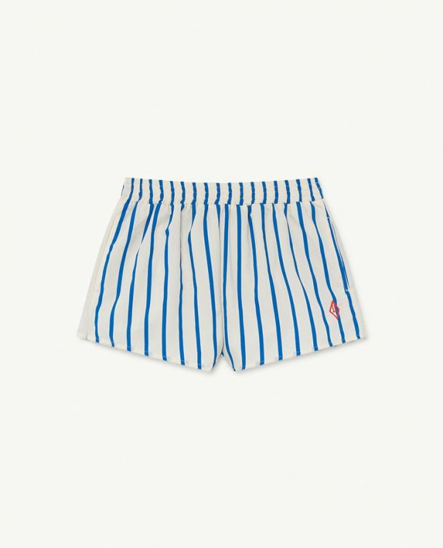 White Stripes Puppy Swimsuit