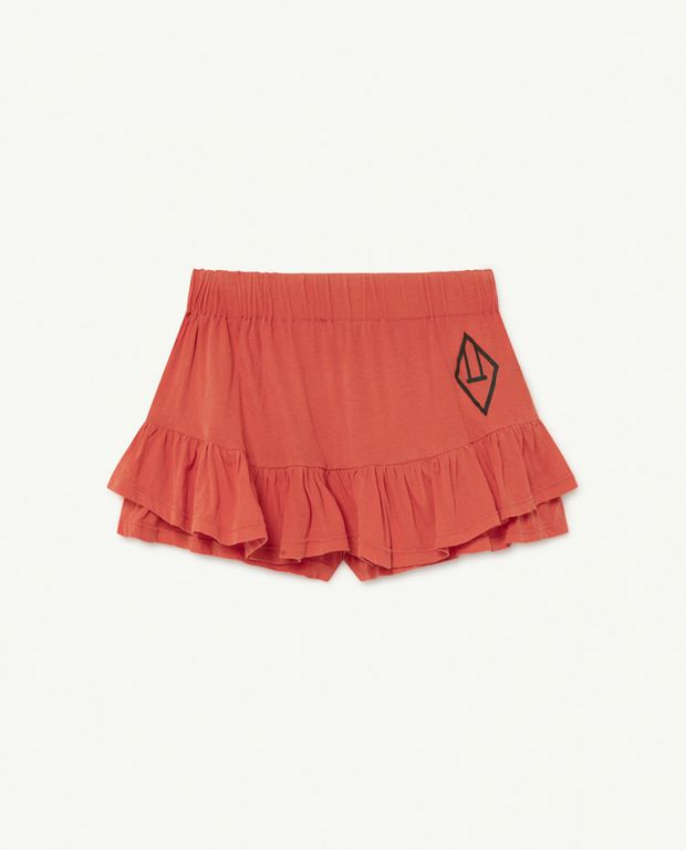Red Logo Kiwi Skirt