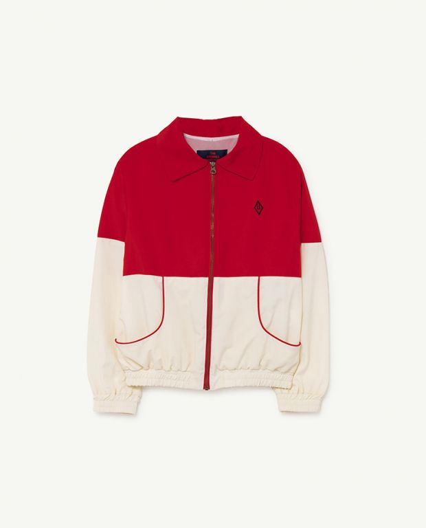 Red Logo Tiger Jacket