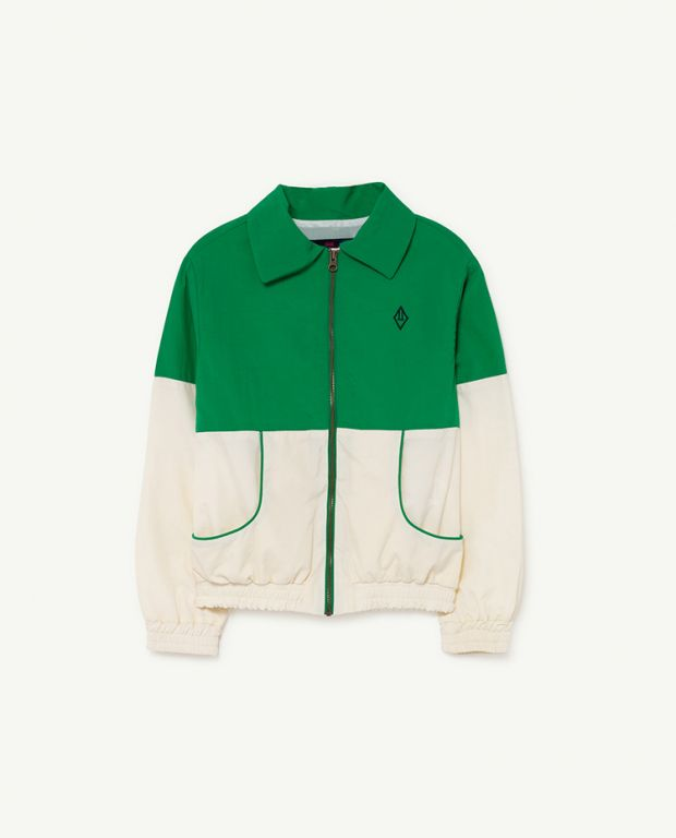 Green Logo Tiger Jacket