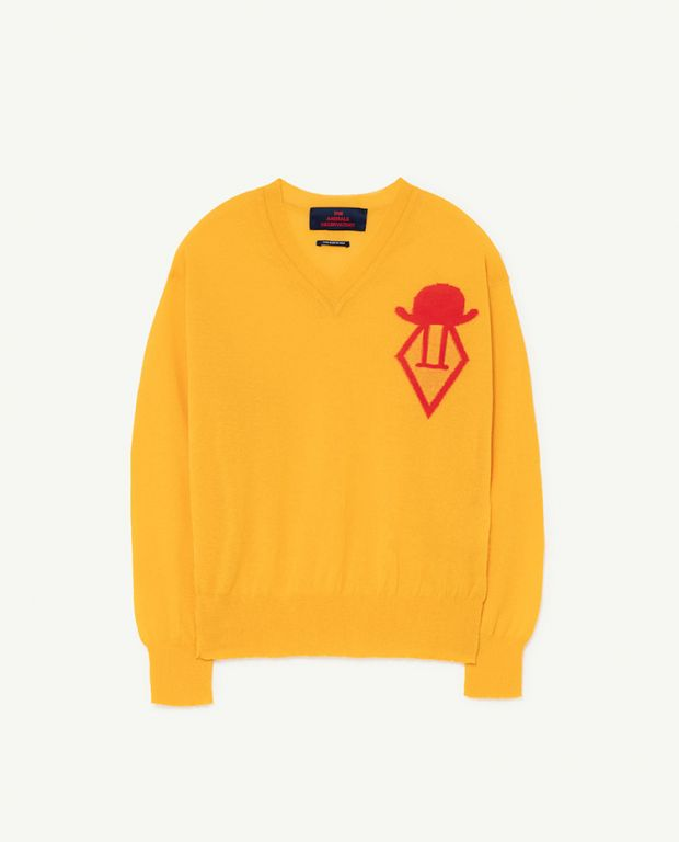 Yellow Logo Toucon Sweater