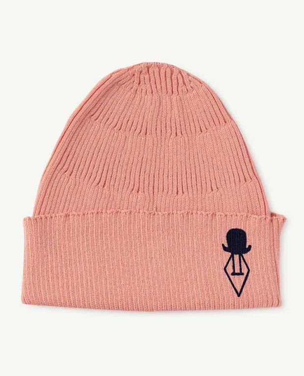 Soft Pink Logo Pony Hat