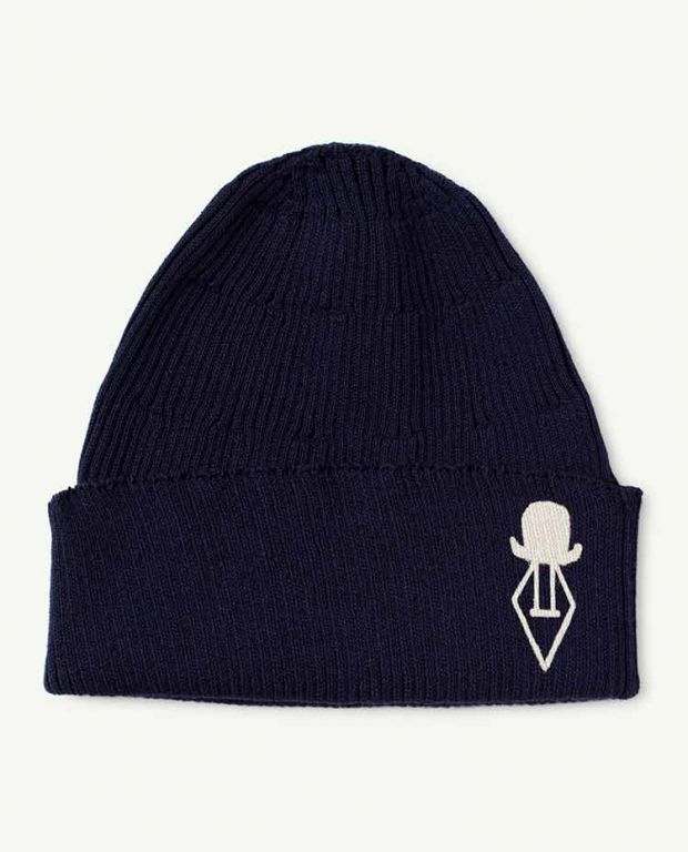 Navy Logo Pony Hat