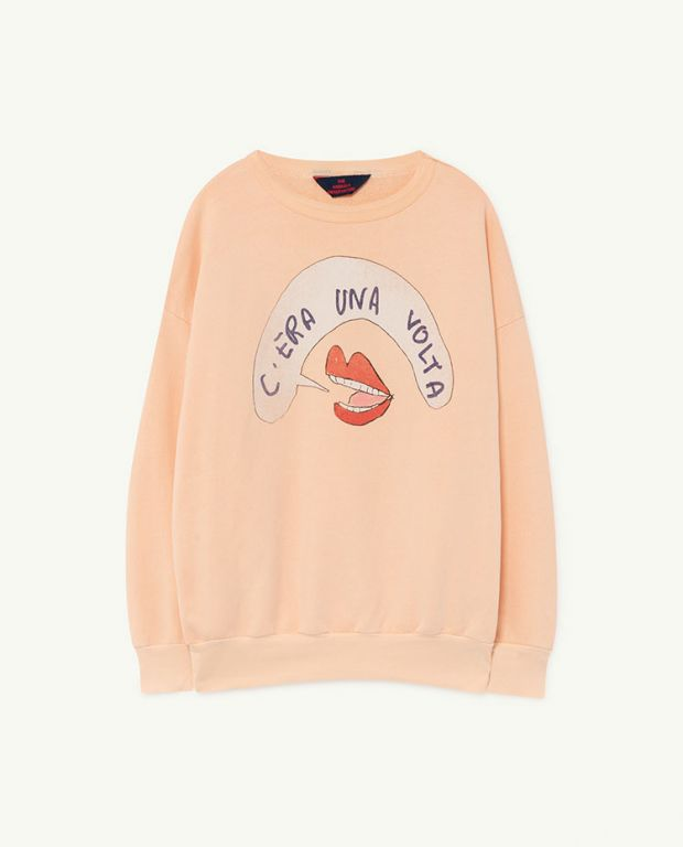 Peachy Mouth Big Bear Sweatshirt