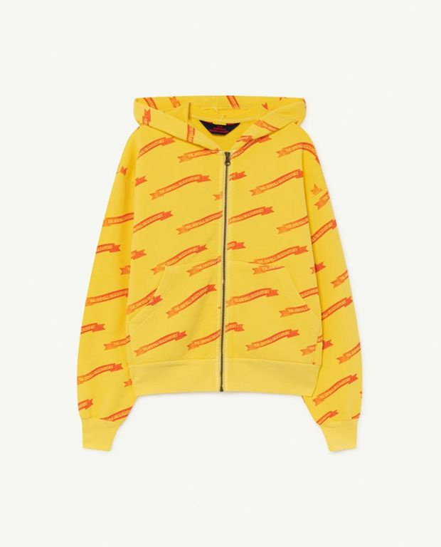 Soft Yellow Ribbons Seahorse Sweatshirt