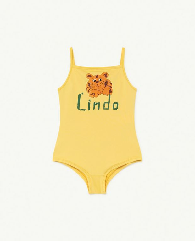 Yellow Lindo Octopus Swimsuit
