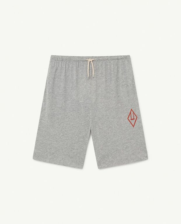 Grey Logo Mole Trousers