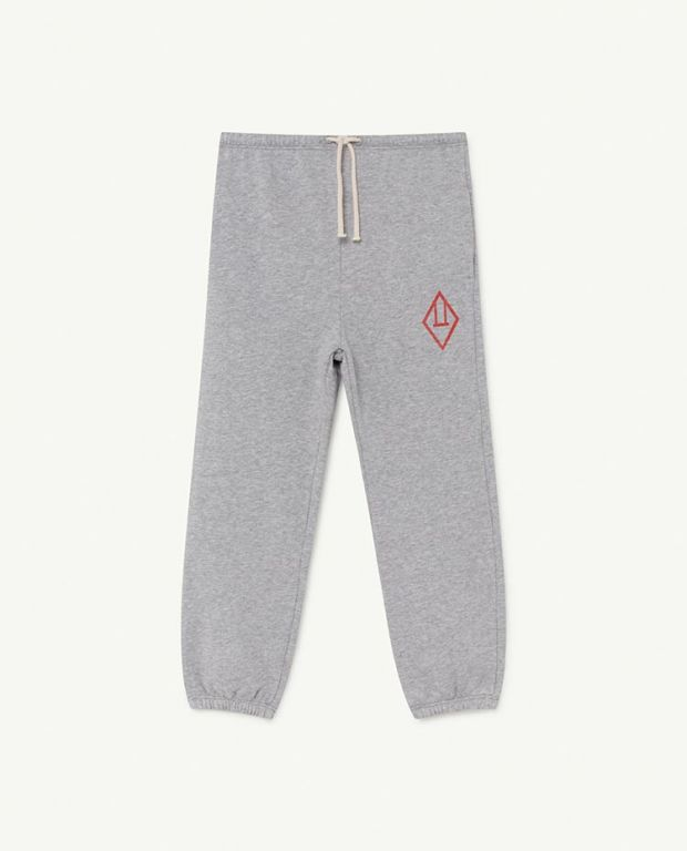Grey Logo Dromedary Trousers