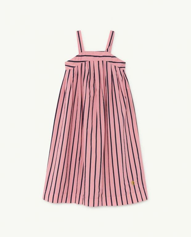 Pink Stripes Giraffe Dress