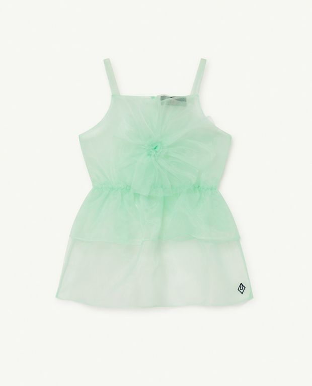 Soft Green Logo Dragonfly dress