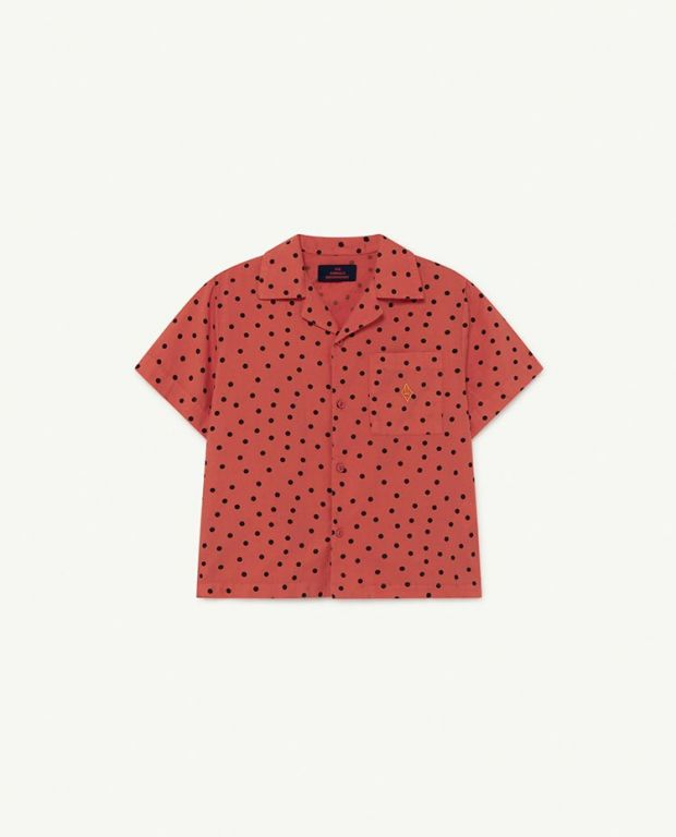 Red Dots Kangaroo Blouse