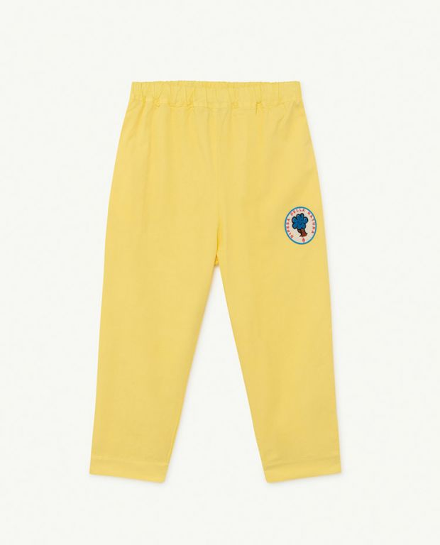 Yellow Tree Elephant Trousers