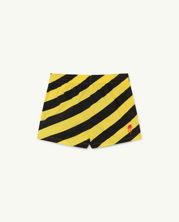 Yellow Stripes Pelican Trousers