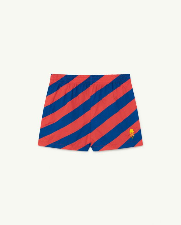 Red Stripes Pelican Trousers