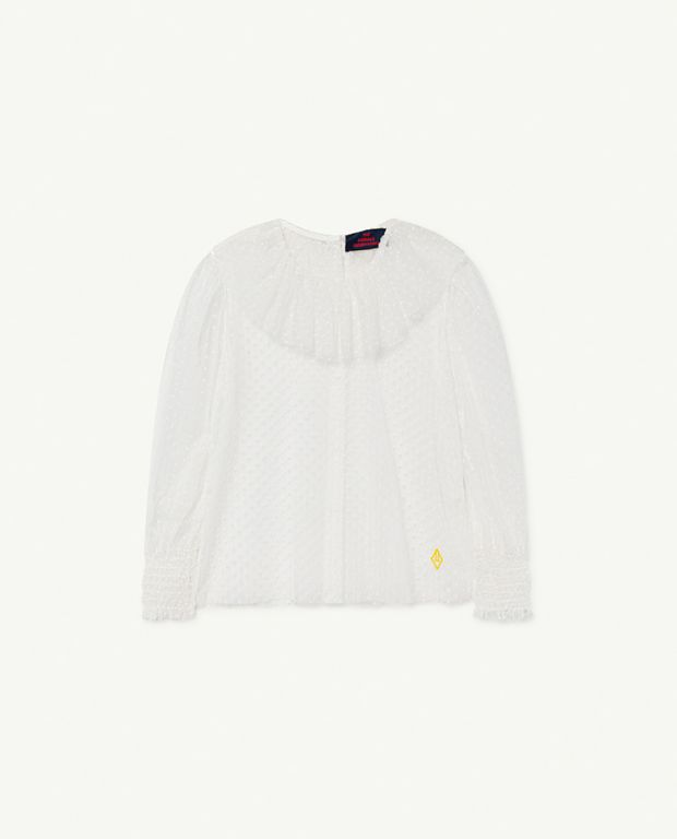 Raw White Logo Seagull Blouse