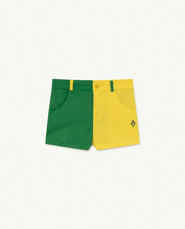 Bicolor Logo Pig Trousers