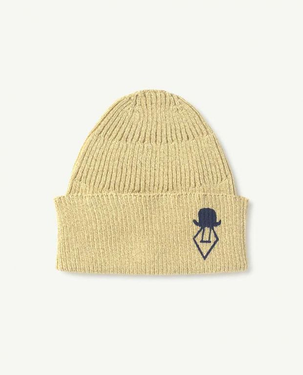 Gold Logo Pony Hat