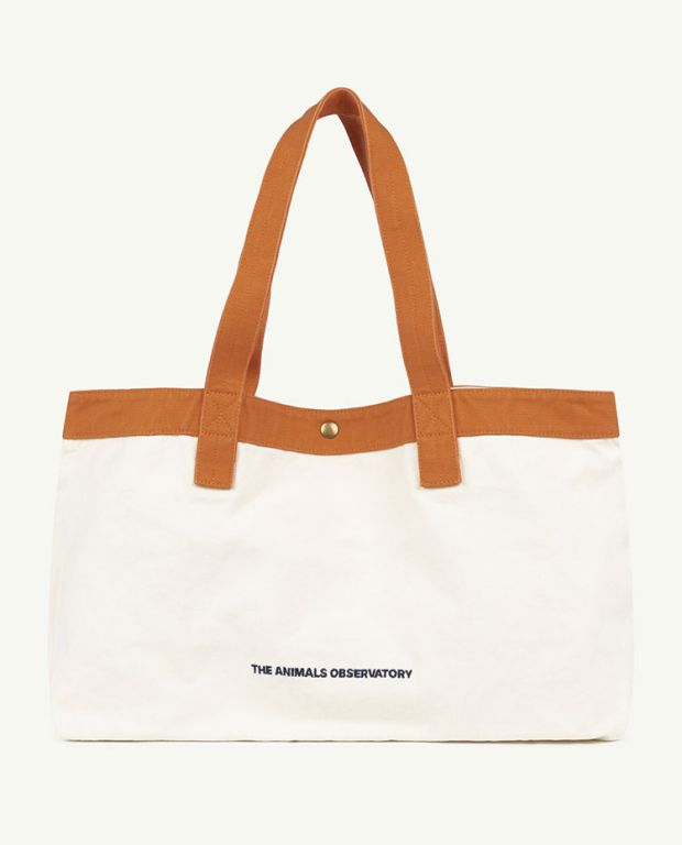White The Animals Big Canvas Bag