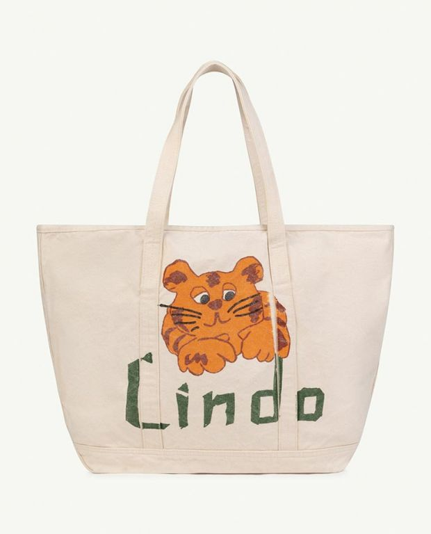White Lindo Tote Bag