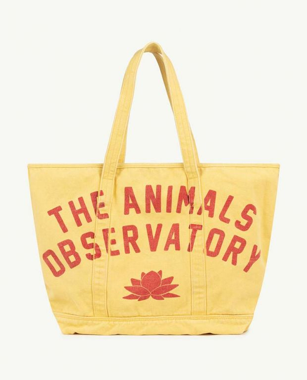 Yellow The Animals Tote Bag