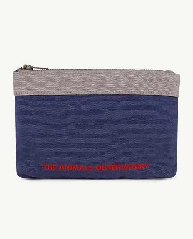 Navy The Animals Purse