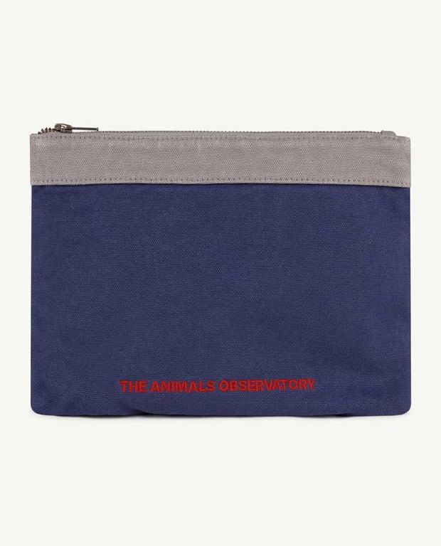 Navy The Animals Pouch